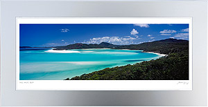 Hill Inlet Framed Print