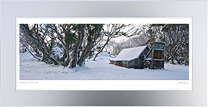 Wallace Hut Framed Print