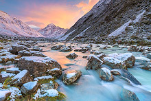 Mount Cook Sunrise Photos