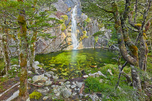 Fiordland Waterfall Photos