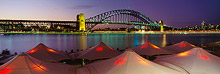 Opera Bar Sunset Sydney Harbour Bridge