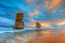12 Apostles Gibsons Beach Sunset Photos