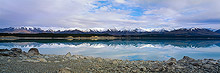 Lake Pukaki, Mount Cook, New Zealand