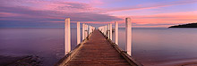 Safety Beach Jetty Sunrise Photos