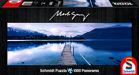 Lake Wakatipu Mark Gray Puzzle