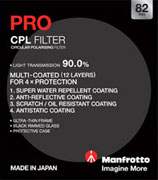 82mm Manfrotto Pro Circular Polariser